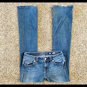 Miss Me Mid-Rise Boot Cut Jeans 27